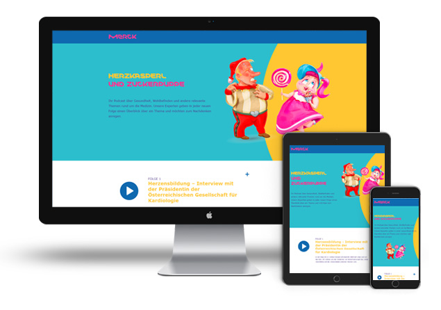 Merck Cast Website