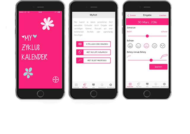 My Zykluskalender App